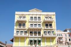 Building at the Qanat Quartier in Doha, Qatar Stock Image