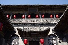 Building of Qiao Family Royalty Free Stock Images
