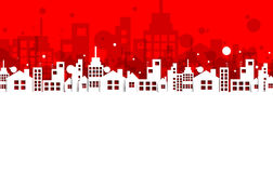 Building and real estate city illustration. Abstract background. For business presentation, sale, rent Stock Image