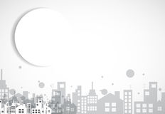 Building and real estate city illustration. Abstract background Stock Photo