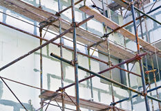 Building reconstruction Royalty Free Stock Photo