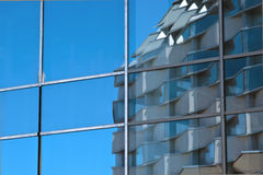 Building reflected Stock Image