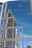 A Building Reflecting the Buildings Royalty Free Stock Photography