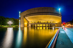Building and reflecting pool at the Christian Science Plaza at n Stock Images