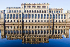 Building reflecting in the water Royalty Free Stock Image