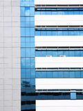Building with Reflection. Glass building with reflection shadow Stock Photography