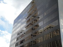 Building Reflection in Denver Royalty Free Stock Image