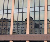 Building Reflection Stock Photography