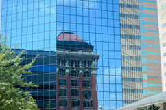 Building reflection Royalty Free Stock Images