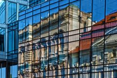 Building, Reflection, Window, Glass Royalty Free Stock Photos