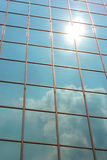 Building Reflections. Of the Sun Stock Photography