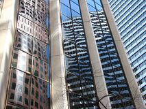 building reflections royalty free stock photography
