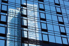 Building reflections in New York City Royalty Free Stock Photo