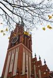 The building of the regional philharmonic society in Kaliningrad Stock Photos