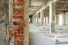 Building Renovated Construction Site Interior Stock Photos