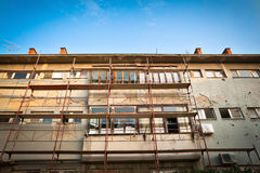 Building renovation Royalty Free Stock Images