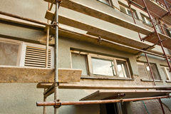 Building renovation Royalty Free Stock Photography