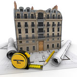 Building renovation Stock Image