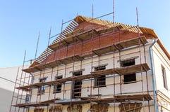 Building renovation facade Stock Image