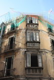 Building Renovation ( Malaga ) Royalty Free Stock Photography