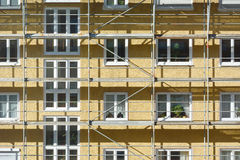 Building Renovation Stock Photo