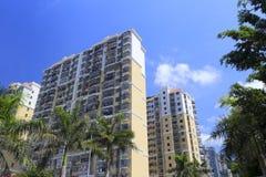 Building of residential area ruijingxincun Stock Images