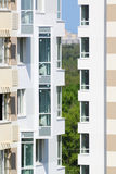 Building of residential complex under construc Royalty Free Stock Photos