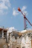 Building Restoration Work, Lecce Stock Image