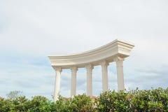 Building Roman Style Stock Image