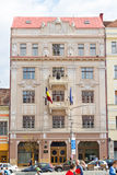 The building of Romanian National Bank, Cluj-Napoca Royalty Free Stock Photo