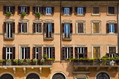 Building in Rome Italy Royalty Free Stock Image