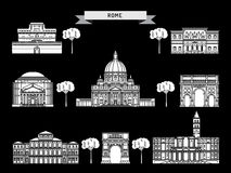 The building of Rome Royalty Free Stock Photography