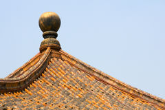 Building roof Royalty Free Stock Photos