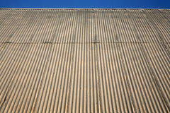 Building roof line Royalty Free Stock Images