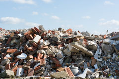 Building rubble Stock Photography