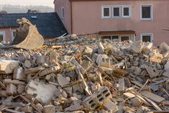 Building rubble Royalty Free Stock Photo