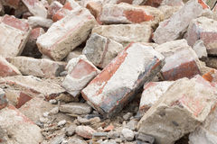 Building rubble Stock Image