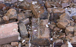 Building Rubble Stock Images