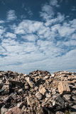 Building rubble Royalty Free Stock Photos