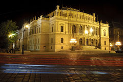 The building of Rudolfinum. The Rudolfinum is a music auditorium in Prague, Czech Republic Royalty Free Stock Photography