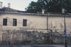 Building in ruin Stock Image