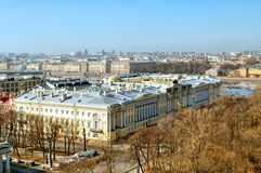 Building of Russian Constitutional Court and President library in St. Petersburg, Russia Stock Photography