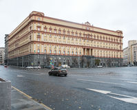 Building of Russian intelligence and security service FSB Stock Photography