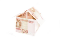 Building of Russian rubles Stock Photography