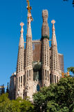 Building Sagrada Familia Stock Images