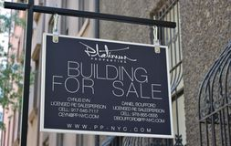 Building for sale Royalty Free Stock Photography