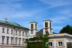 Building in salzburg Royalty Free Stock Photo