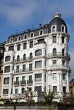 Building in San Sebastian, Gipuzkoa Royalty Free Stock Image