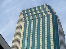 Building of Santiago Stock Image