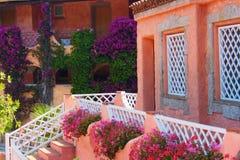 Building in Sardinia Royalty Free Stock Photos